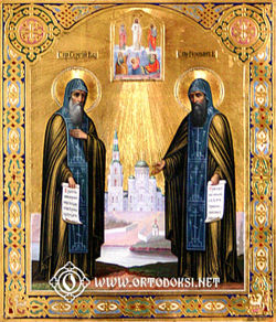 Saints Sergius and Herman of ValaamPhoto © Pyykkönen